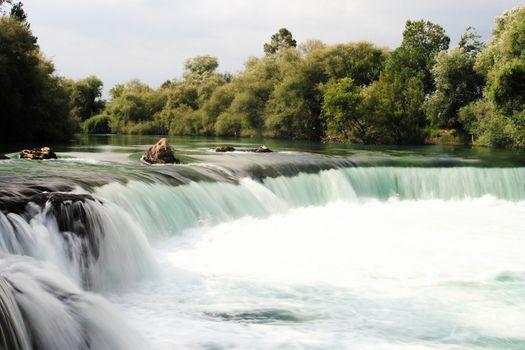A silky waterfall