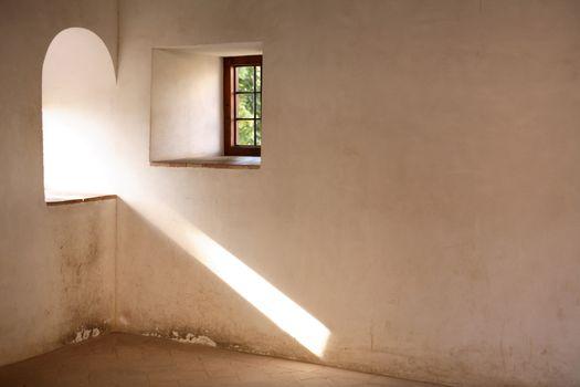 Window With Sunbeam