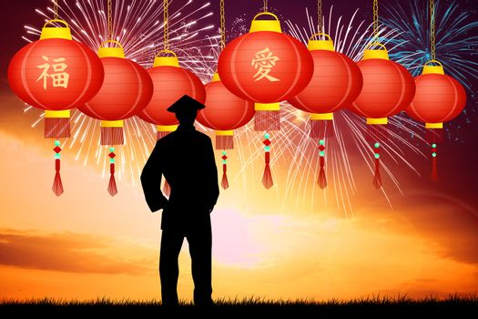 illustration of Chinese New Year