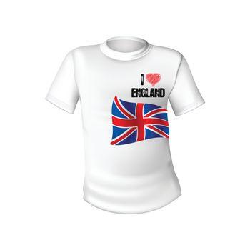 English t-shirt design