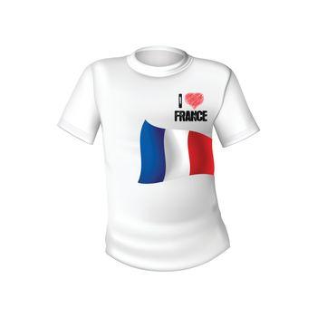 France t-shirt flag