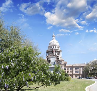 Capitol building in Austin, Texas