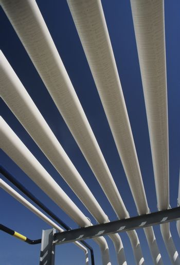 Parallel pipes outside