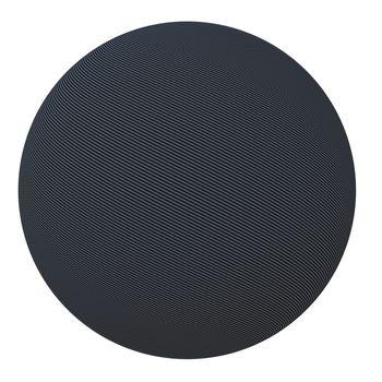 Ball of carbon fiber