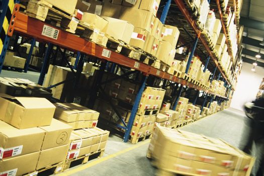 Packages in warehouse