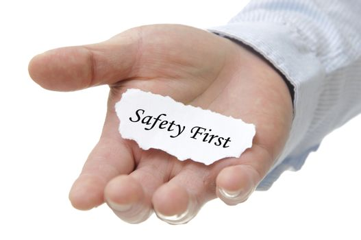 Safety First - Note Series