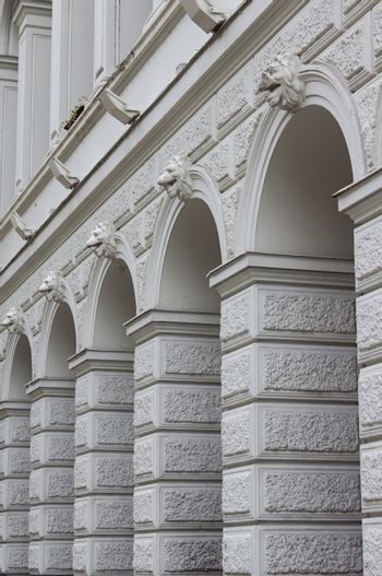 Tbilisi's architecture, arcade of Viceroy palace