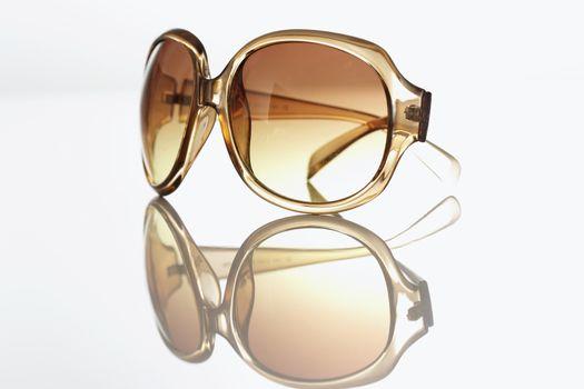 Sunglasses studio shot