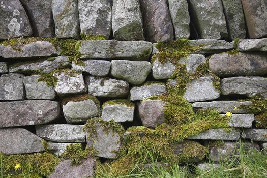 Stone wall close-up