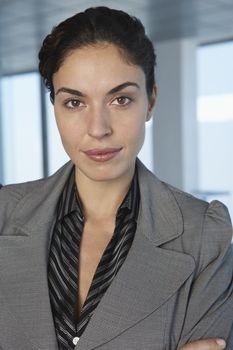 Business woman indoors portrait
