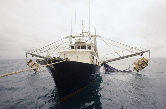 Prawn fishing trawler Gulf of Carpentaria Australia