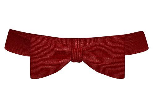 Classic Red Bowtie