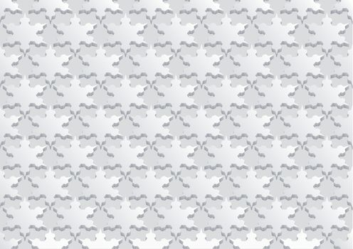 seamless background with a snowflakes. 10 EPS