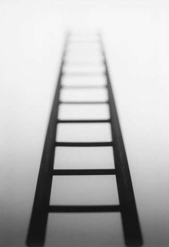 Ladder leading to light source