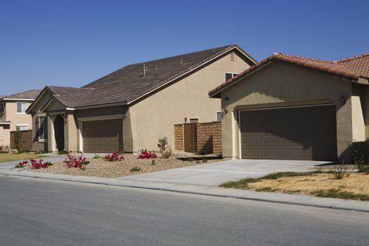 Houses in New Development