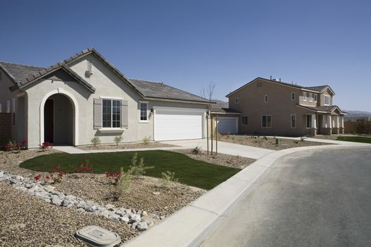 New Houses With Landscaped Yards