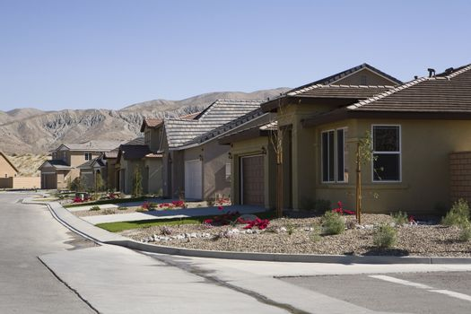 Residential structures abandoned due to foreclosure