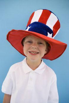 Patriotic Boy