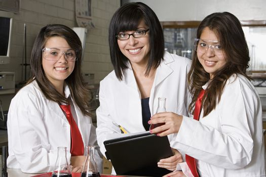 High School Science Students