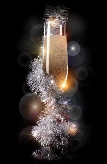 Champagne decorations