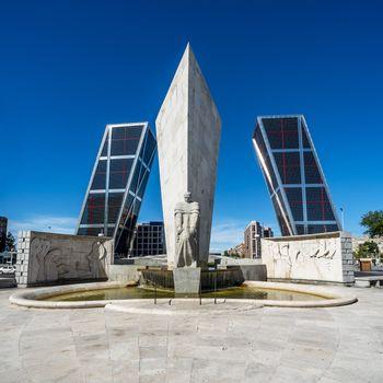 Torres Kio in Madrid