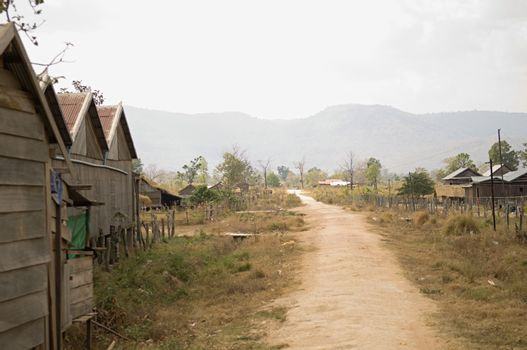 Dirt Road in Village