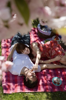 Young Couple Having a Picnic