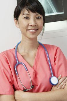 Doctor in hospitalportrait