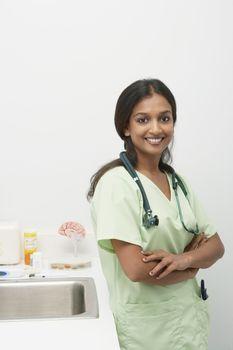 Female doctorsmiling
