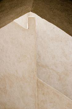Dubai UAE Architectural detail of Sheikh Saeed al-Maktoum House