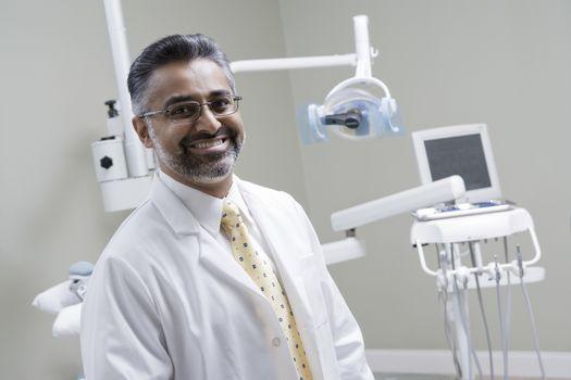 Portrait of dentist