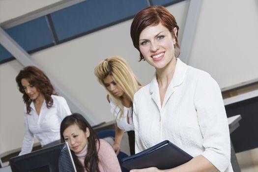 Multi Racial Group of Businesswomen