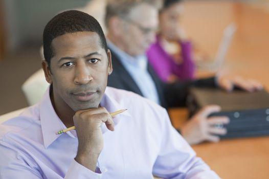 African American Businessman Portrait