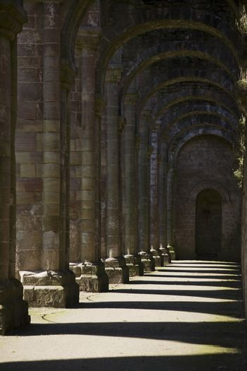Fountains Abbey Yorkshire England