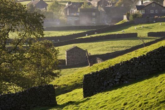 Village Yorkshire Dales Yorkshire England