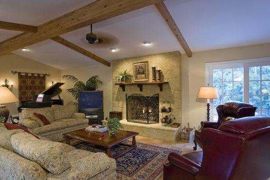 Luxurious residence interior