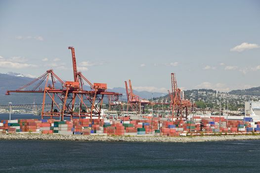 Cranes And Cargo Containers