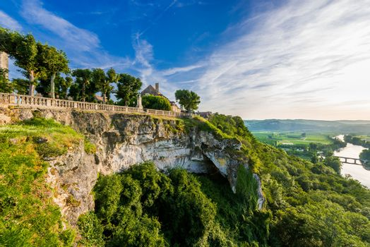 panoramic view from dome dordogne