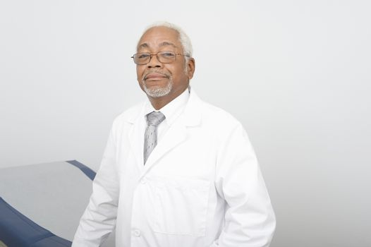 Senior healthcare professional