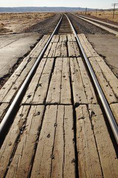 Train tracks USA