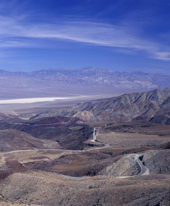 Death Valley National Park Rainbow Canyon and Death Valley California