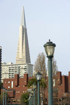 Transamerica Pyramid San Francisco designed by William Pereira