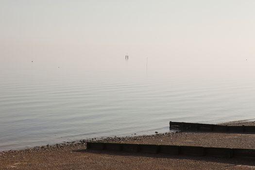 Coastal seashore herne Bay Kent
