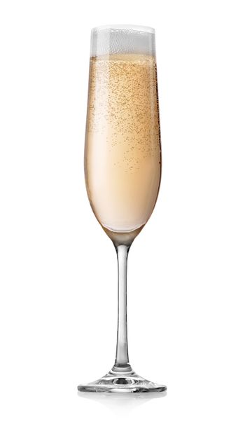 Champagne with bubbles