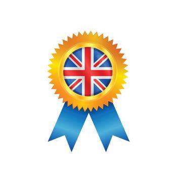 United Kingdom medal flag