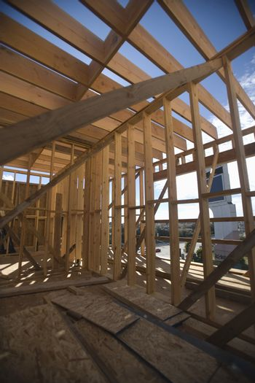 Incomplete framework of new home