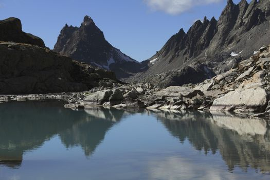 Fasulspitze  Austria  Tirol  Verwall range