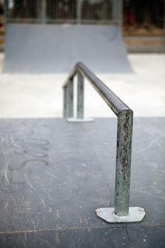 Skatepark Grind Rail