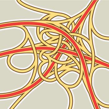 Crazy junction map