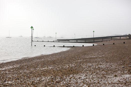 Shoreline at Southend, UK